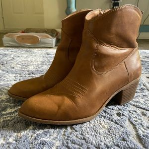 Style & Co Shoes - Brown Western Boots